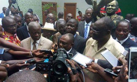 Kouadio Konan Bertin dit KKB qui était en disgrâce avec le Parti démocratique de Côte d'Ivoire (Pdci-Rda), a annoncé ce lundi 19 juin 2017