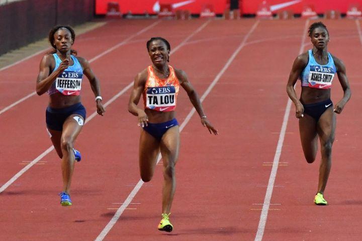 La sprinteuse ivoirienne Marie-José Ta Lou a offert le trophée du 100 mètres et la 3è place du 200 mètres au continent africain.