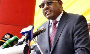 M. Hailemariam Dessalegn, le Premier ministre d'Ethiopie