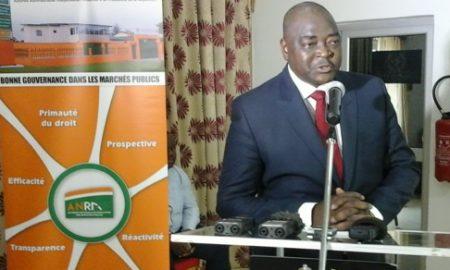 Le Président de l'ANRMP, Coulibaly Non Karna (Photo d'archives)