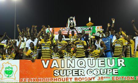 L'Asec Mimosas est venue à bout de l'Africa Sports d'Abidjan en finale de la 38è édition de la coupe Houphouët-Boigny