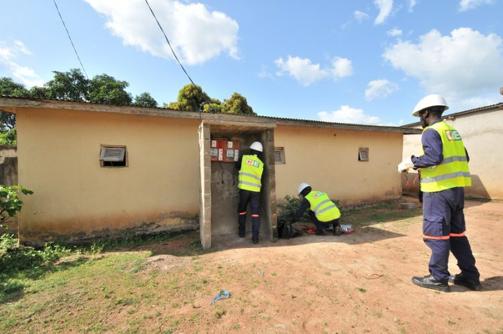 CIE - électrification rurale - Blahou