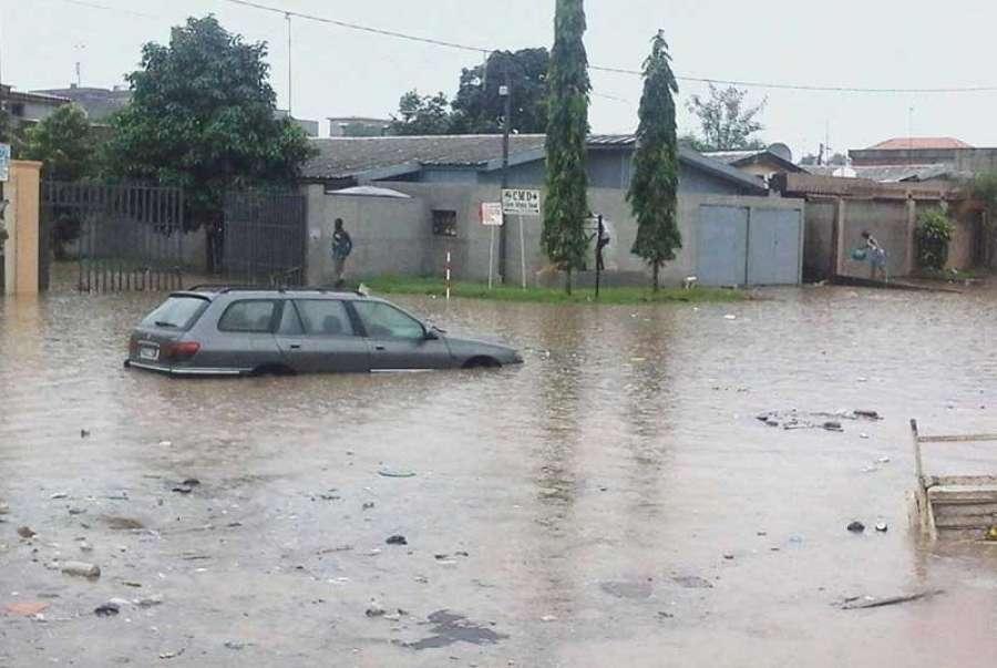 pluie diluvienne a abidjan