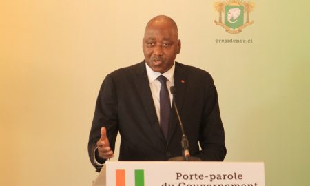 Amadou Gon Coulibaly - amnistie - assemblée nationale