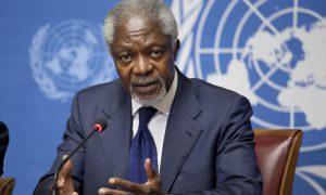 l'ancien Secrétaire général des Nations Unies, Kofi Annan