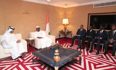 Alassane Ouattara - Qatar - Achi - diplomatie
