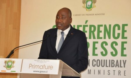 Amadou Gon Coulibaly - economie - politique - conférence - UEMOA - dette