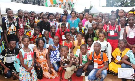 Attécoubé - élèves - Tchagba Laurent