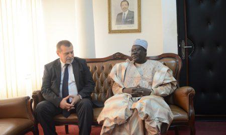 Cameroun - Ambassadeur de Russie - Anatoly Bashkin