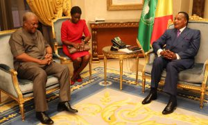 John Dramani Mahama - Sassou N'guesso - Congo - Ghana