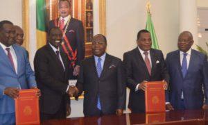 Kenya - Congo-Brazzaville - coopération - économie - sports - sciences - militaire - politique - technologie - accord-cadre