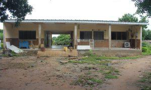Le centre de santé rural de Kamalo en réfection