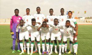 Sénégal - football - u17 - UFOA