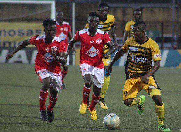 asec-wac - football - ligue 1