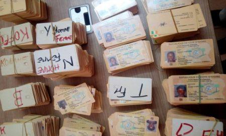 identification - Oumé - CNI - ONI - société